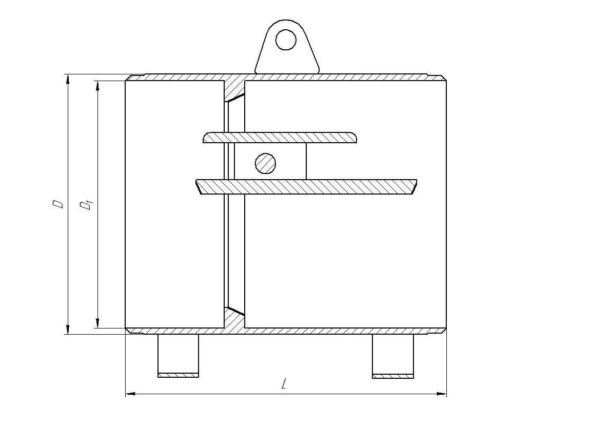 Kлапан обратный стальной схема